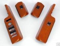 RANGE ROVER P38 Walnut Window Switch Pack Panel Surround 94 To 02